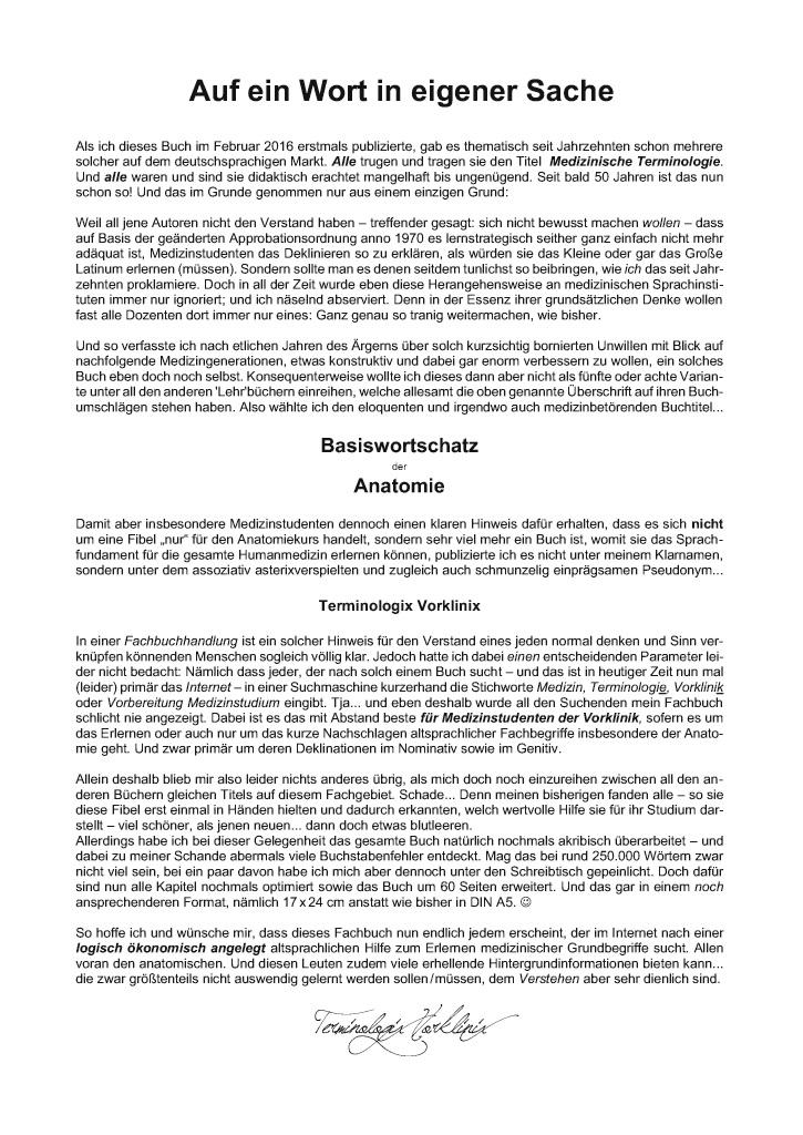 BoD-Leseprobe: Medizinische Terminologie