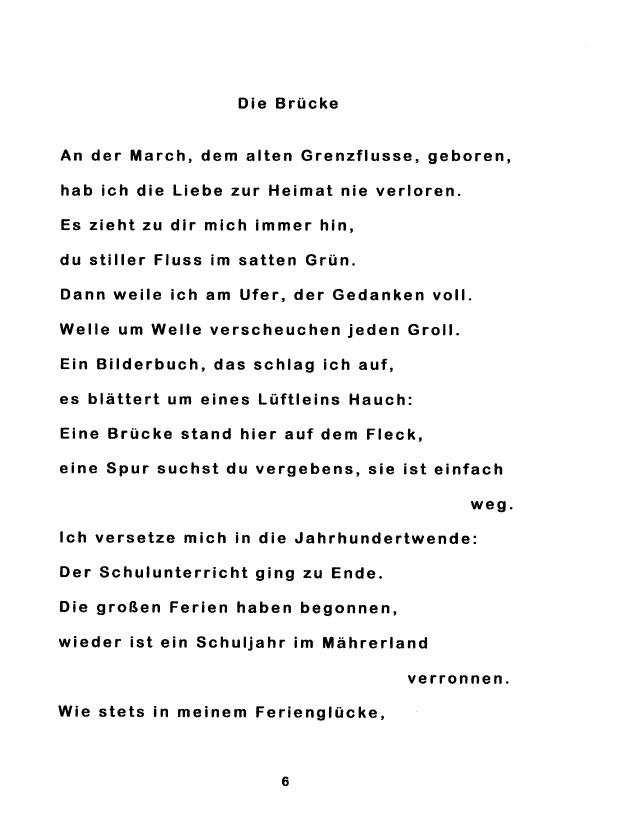 Bod Leseprobe Gedichte Aus Dürnkrut Und Umgebung