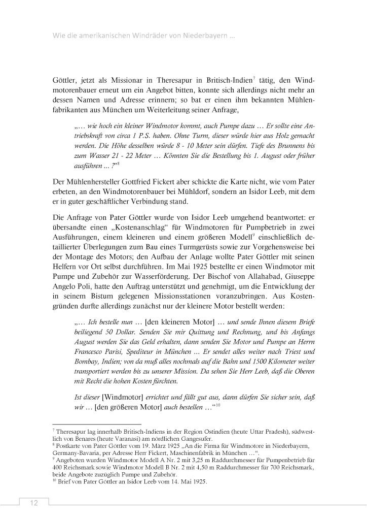 Bod Leseprobe Wie Die Amerikanischen Windräder Von Niederbayern