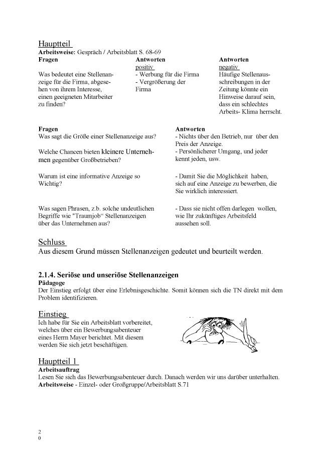 BoD-Leseprobe: Bewerbertraining