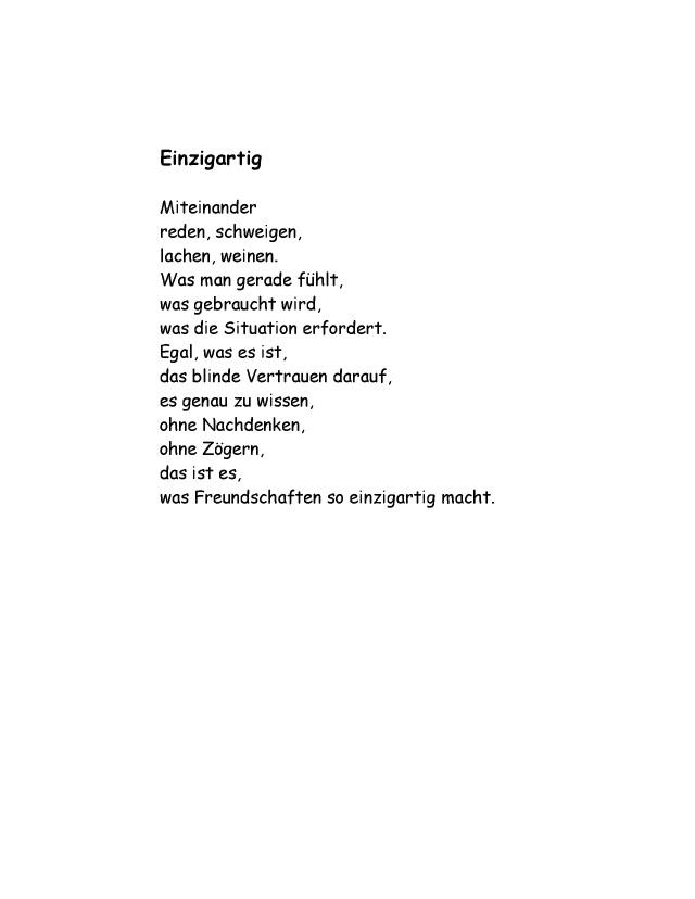 Ist was gedicht ist es es Es ist