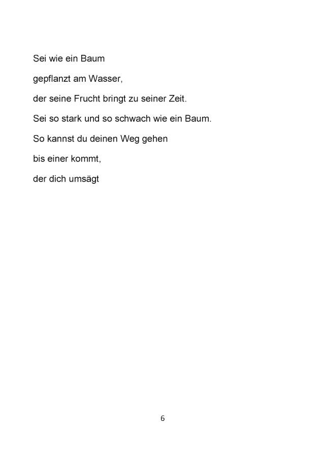 Bod Leseprobe Moderne Gedichte