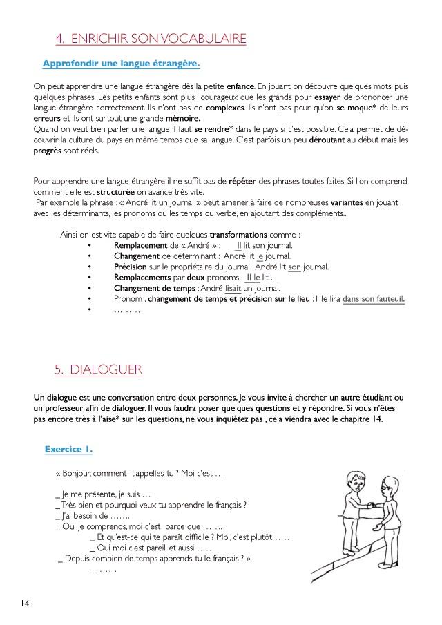 Exemple Dun Dialogue Entre Deux Personnes - Le Meilleur ...