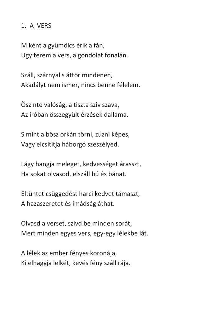 Vigyázz a szemedre versekben