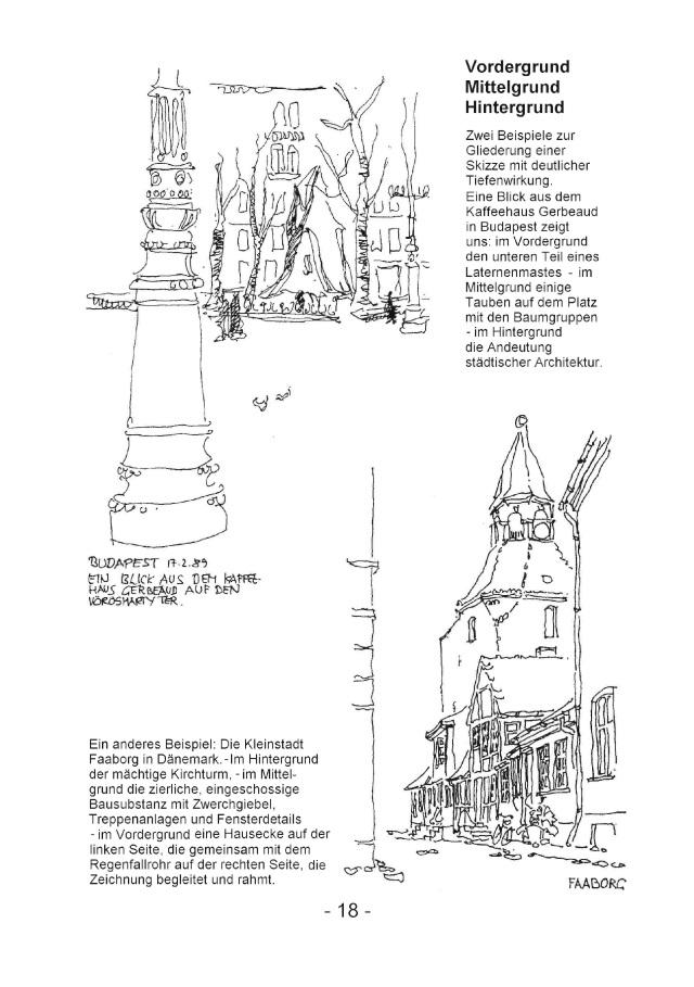 BoD-Leseprobe: Zeichnen - mit einer Einführung und Hinweisen zum ...