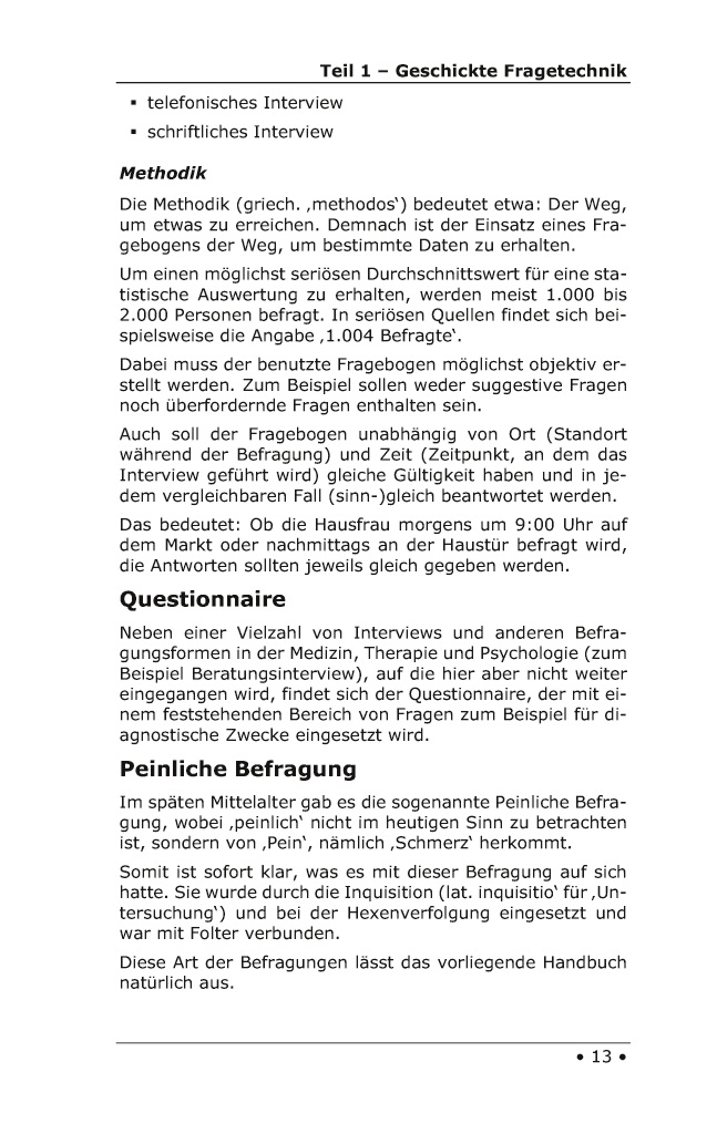 Bod Leseprobe Rhetorik Handbuch 2100 Interviews Fuhren