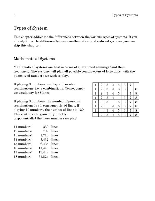 BoD-læseprøve: Lotto Systems