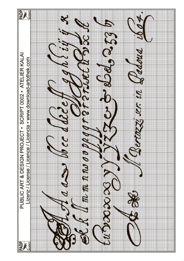Bekannt BoD-Leseprobe: PADP-Script 002: Buchstaben sticken II TV74