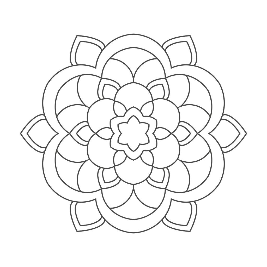 einfache mandalas für senioren