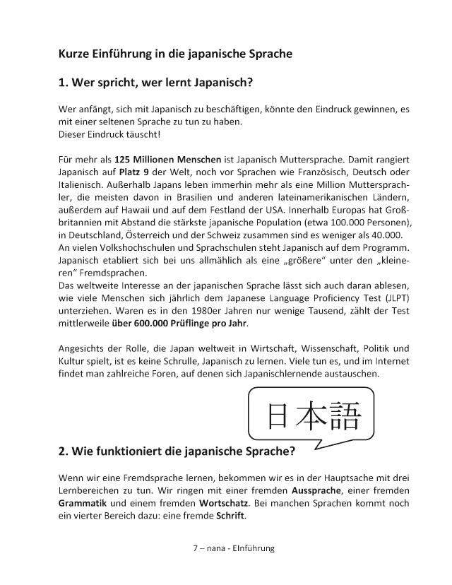 Bod Leseprobe Japanisch Schritt Für Schritt Band 1