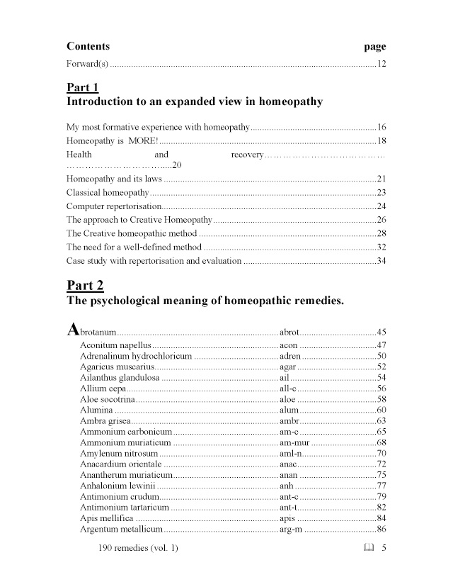 BoD-Leseprobe: The Psychological Meaning of Homeopathic Remedies