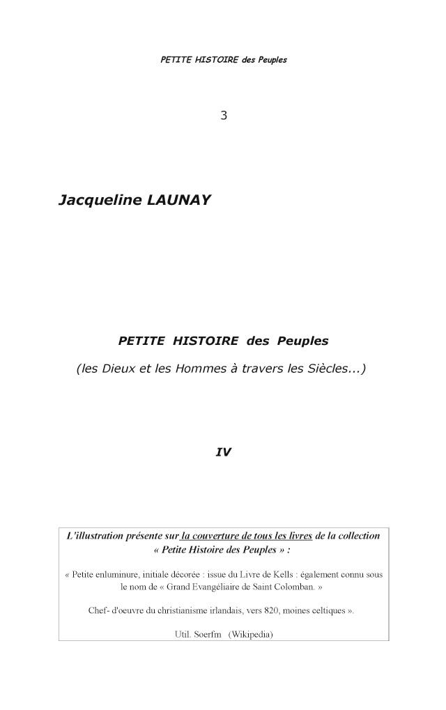 Lire Un Extrait Avec Bod Petite Histoire Des Peuples 4