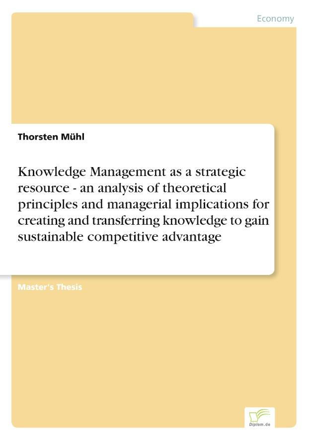 sustainable strategic advantage