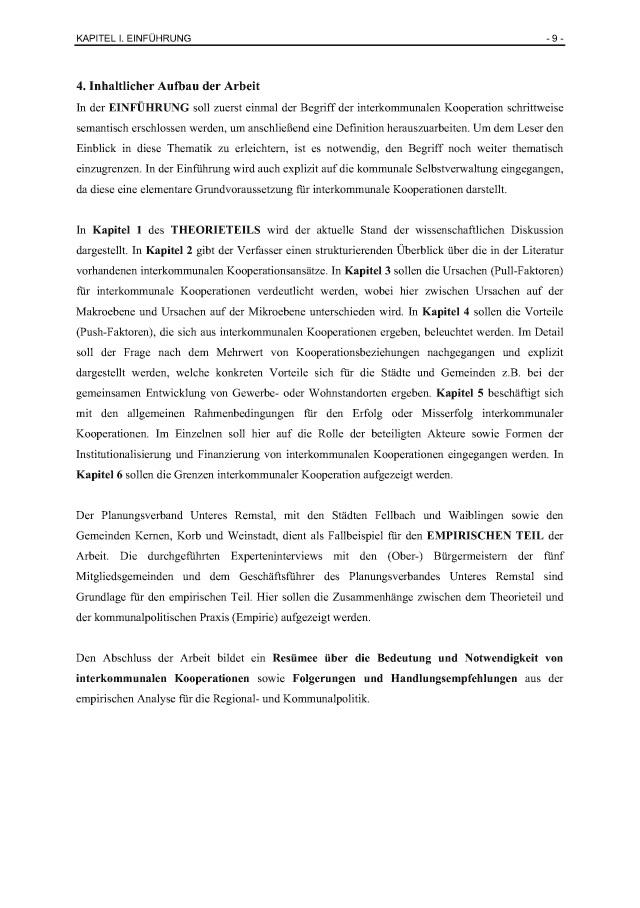 Bod Leseprobe Interkommunale Kooperation In Der Stadtplanung