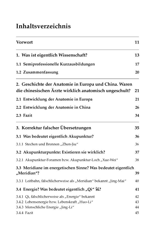 BoD-Leseprobe: Anatomie in der Akupunktur mit Korrektur falscher ...