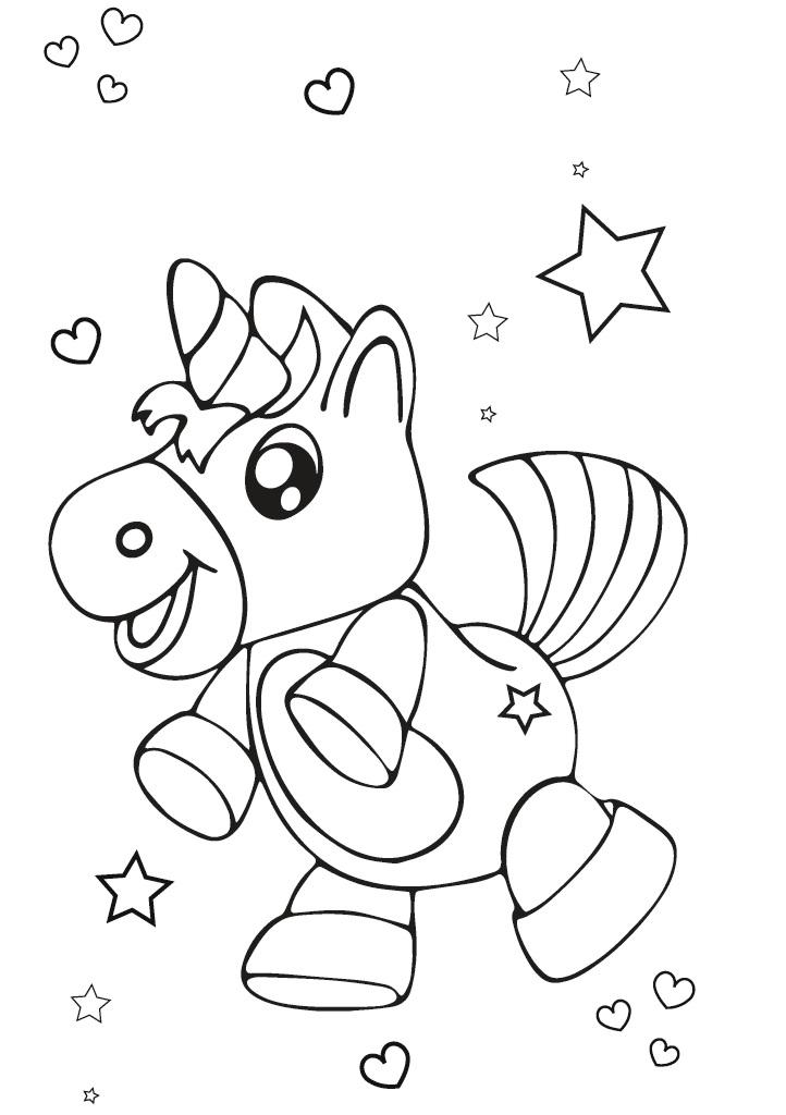 Lire Un Extrait Avec Bod Coloriage Licornes Pour Enfants 3 8 Ans