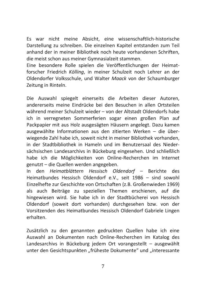 Bod Leseprobe Die Stadt Mit 24 Dörfern Hessisch Oldendorf An Der Weser
