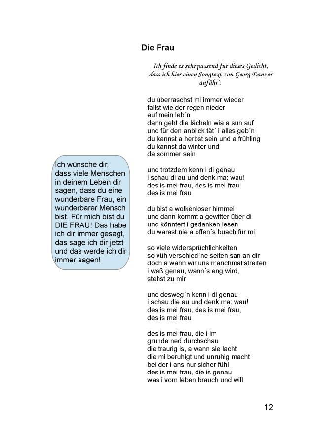Wunderbarer mensch gedicht