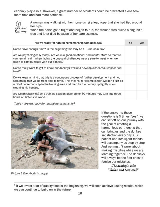 BoD-Leseprobe: Donkeys and Humans