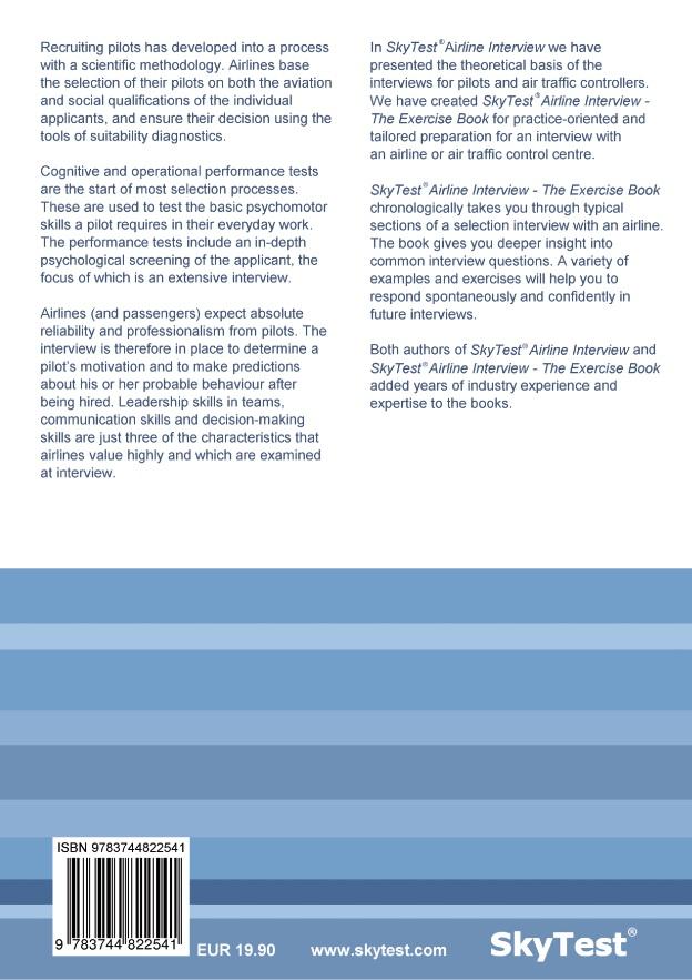 BoD-Leseprobe: SkyTest® Airline Interview - The Exercise Book