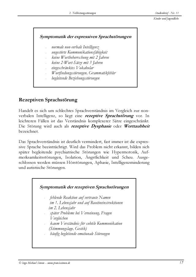 BoD-Leseprobe: Heimstudium Heilpraktiker Psychotherapie