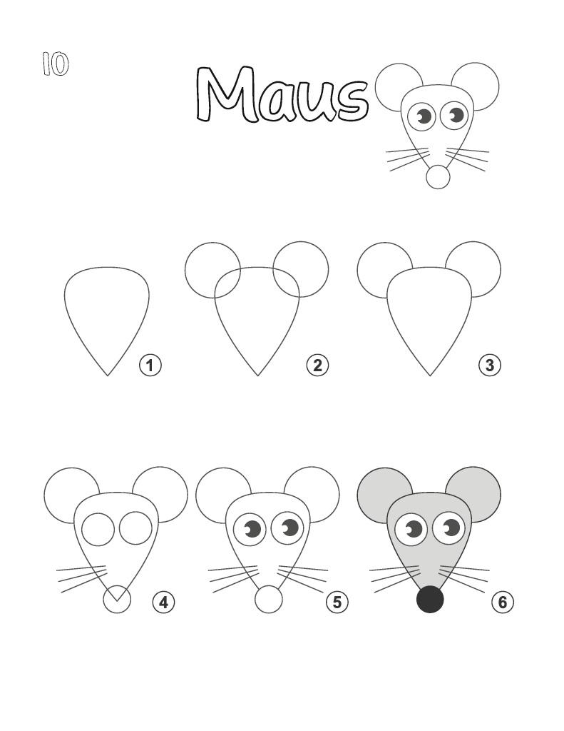 Tiere Zeichnen Anleitung Um Verschiedene Tiere Zu Malen 9