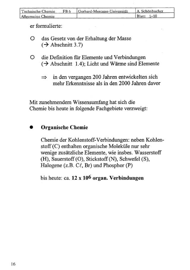 Bod Leseprobe Allgemeine Und Technische Chemie