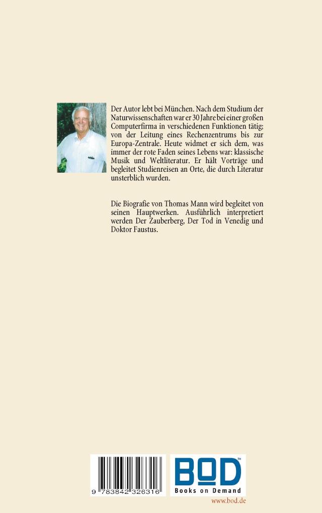 Bod Leseprobe Thomas Mann Buddenbrooks Zauberberg Tod In