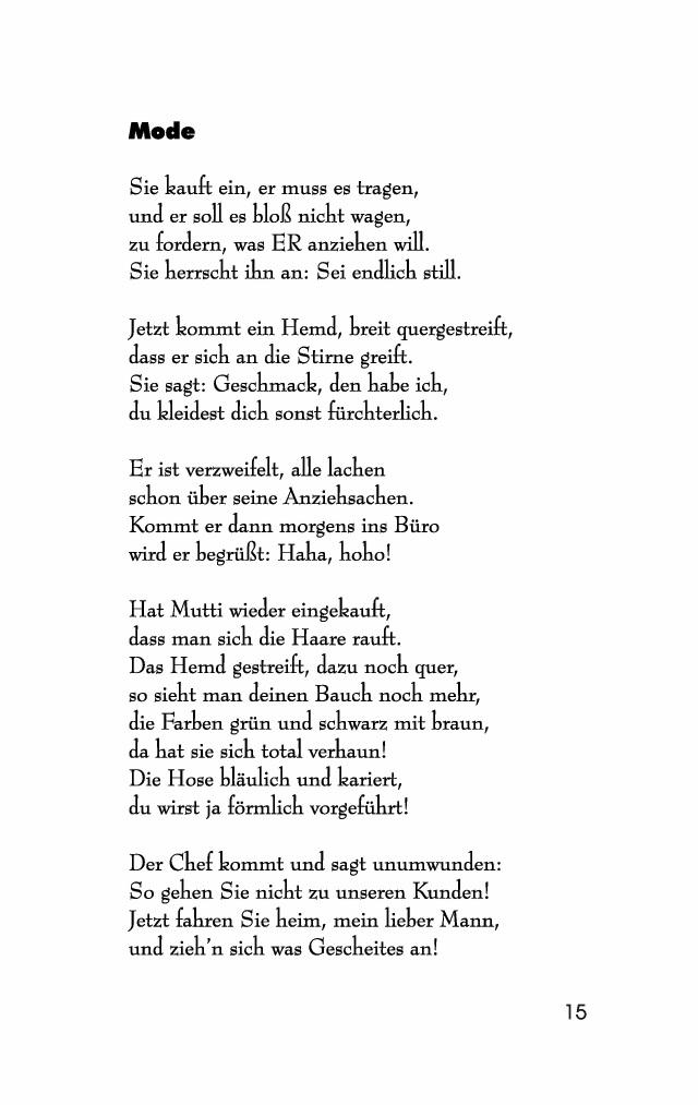 Böse gedichte