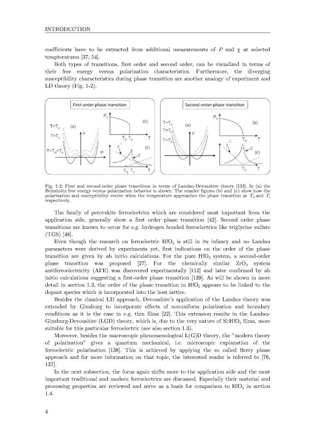 BoD-Leseprobe: Development of HfO2-Based Ferroelectric