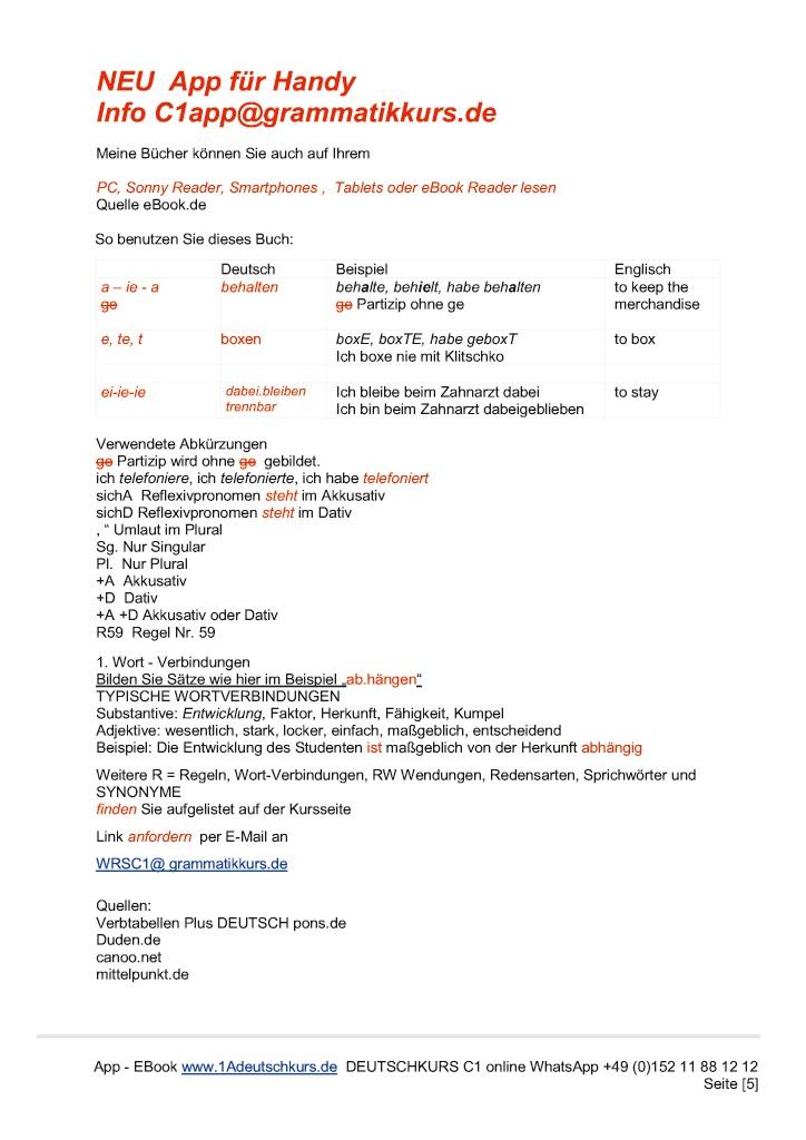 Bod Leseprobe Wörterbuch C1 Deutsch Englisch