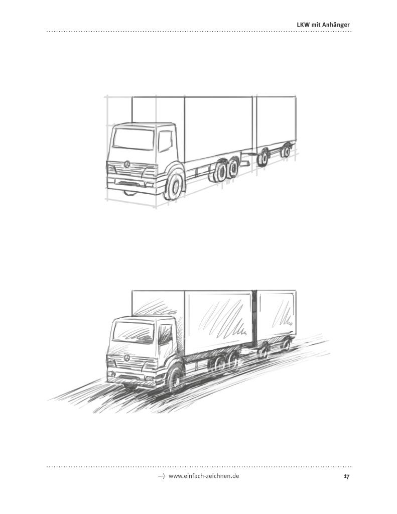 Bod Leseprobe Einfach Zeichnen Autos Lkws Sportwagen