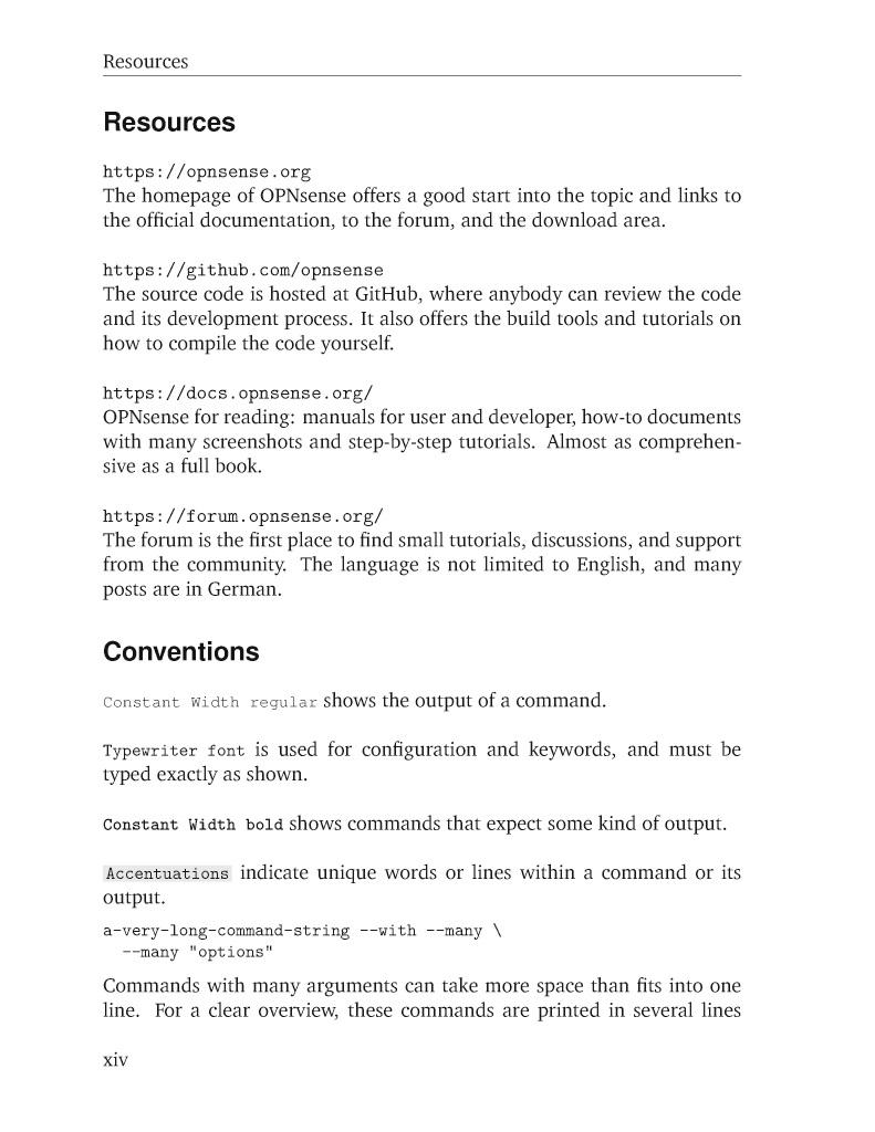 BoD-Leseprobe: Practical OPNsense