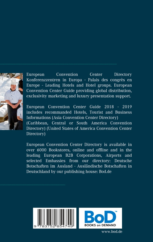 BoD-Leseprobe: European Convention Center Directory